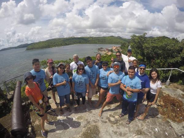 PHILTOA Members and Media in Culion Palawan