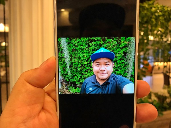 Selfie using OPPO F5