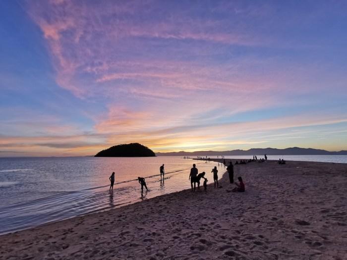 Sunset in Bon Bon Beach