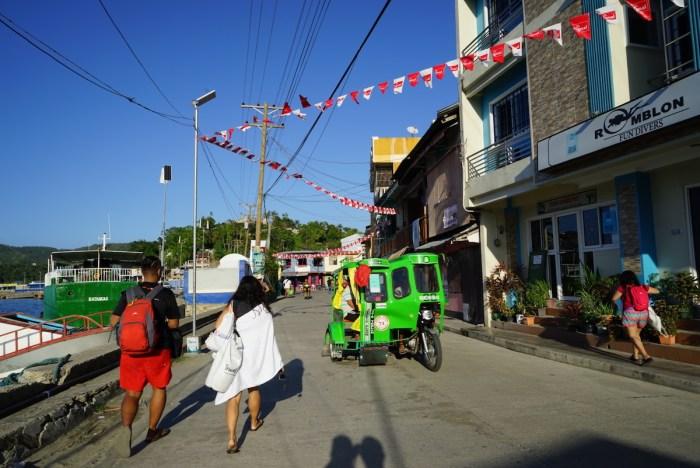 Tricycle in Romblon