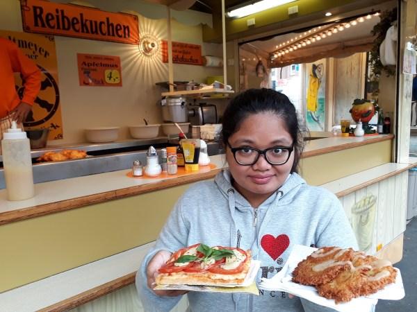 Take Two: Pizza Margherita and Reibekuchen