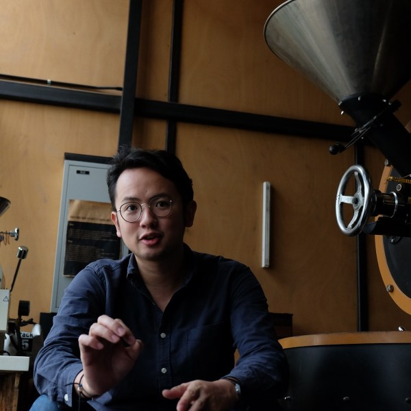 With a brewing passion for coffee, Andre Chanco practices a hands-on approach when it comes to his own business.