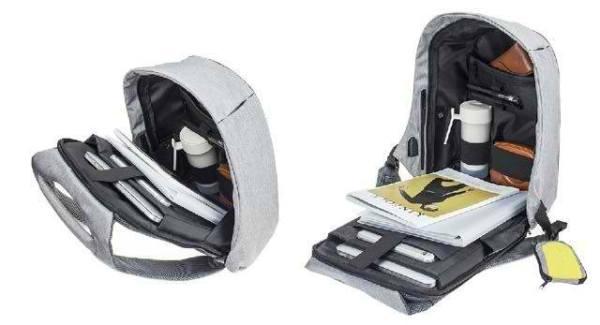 Bobby Antitheft Backpack Advanced Storage Design