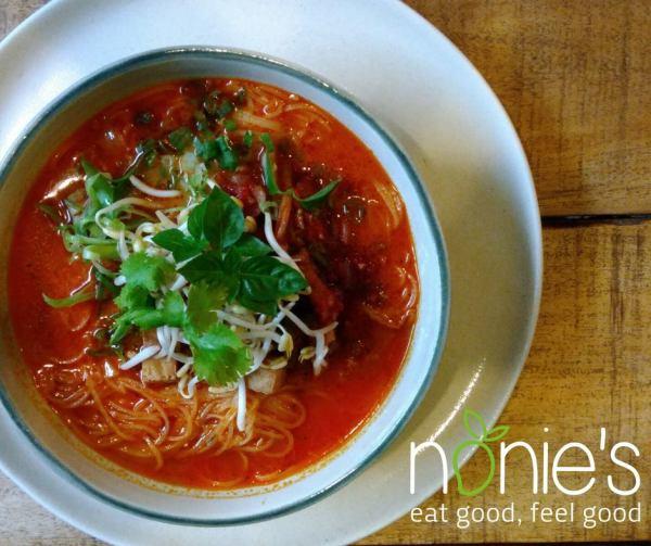 Kimchi Noodle Soup by Nonie's fb page