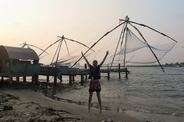 Veronika in Cochin India