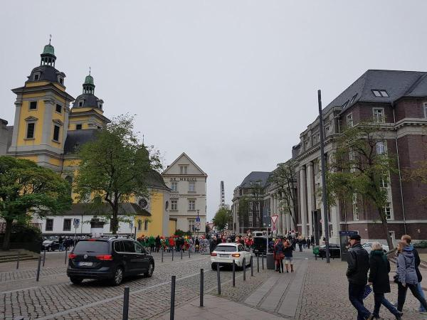 Some of the old buildings in Düsseldorf Altstadt
