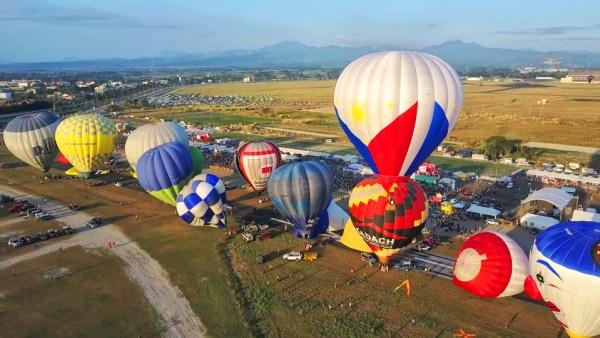 2018 Philippines Hot Air Balloon Fiesta Schedule of Activities