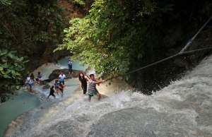 Aguinid Falls Level 2 -– credit Louise Santiano