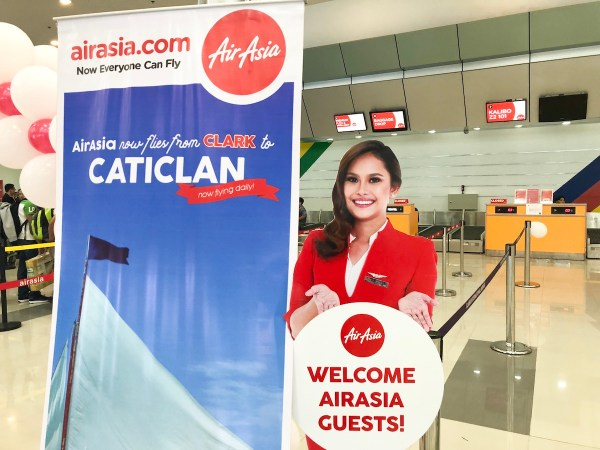 AirAsia now flies from Clark to Caticlan
