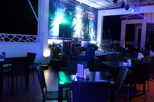 Bar at Azzurro in Angeles City
