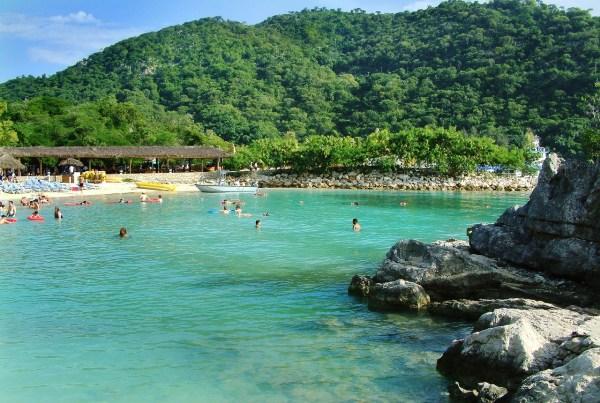 Beach in Haiti
