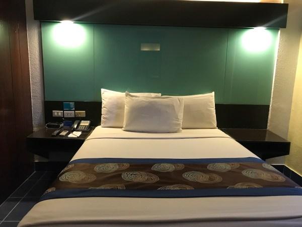Beds at Microtel Puerto Princesa