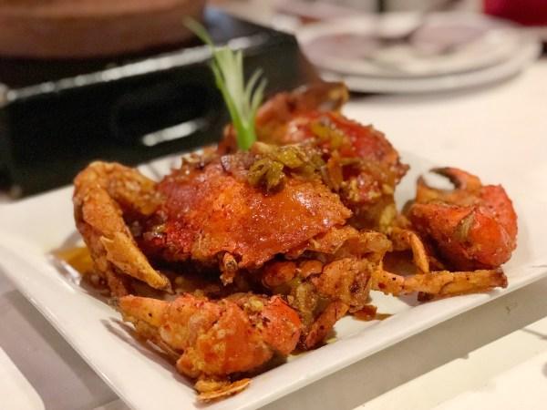 Butter Garlic Crabs