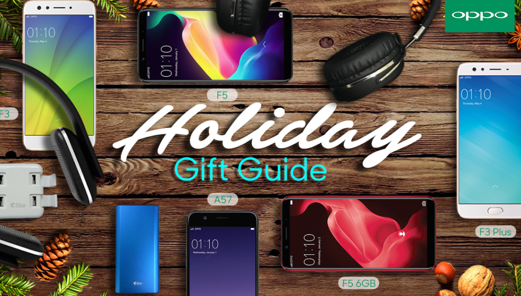 Christmas Gift Guide from OPPO