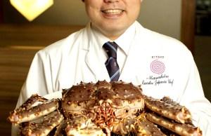 Executive Japanese Chef Masahiro Mizumoto CTA
