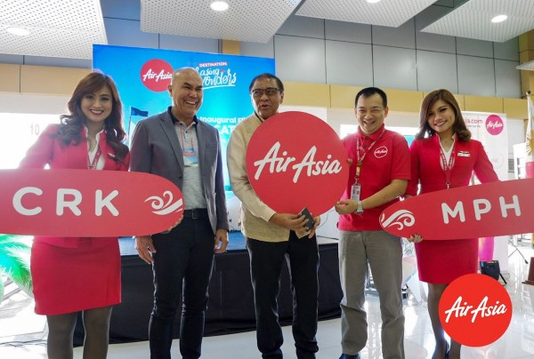 Launch of AirAsia Clark-Caticlan Flight