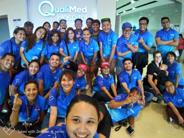 Media and Asus ZenFone family volunteers of Operation Smile Iloilo Mission