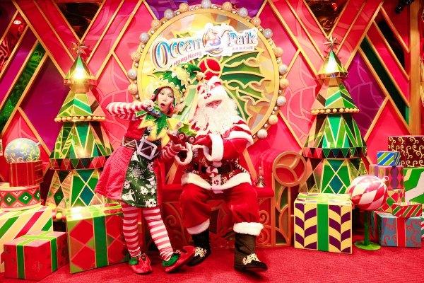 Ocean Park Santa Claus - Celebrating the Yuletide Season in Ocean Park Hong Kong