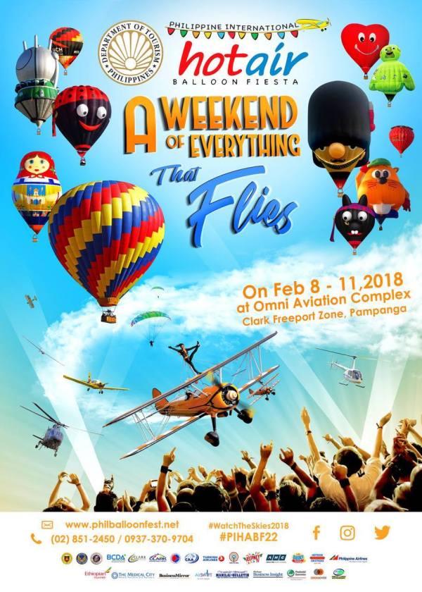 Philippine International Hot Air Balloon Fiesta 2018