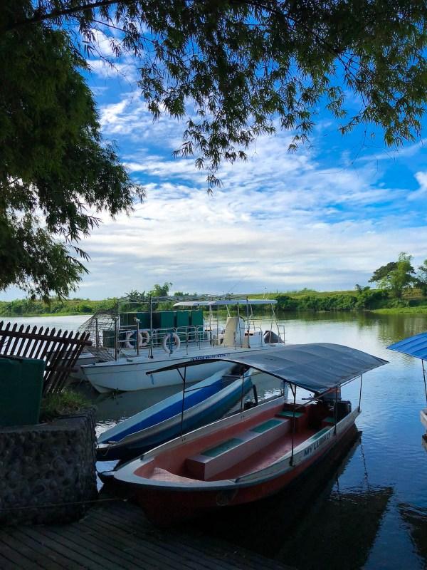 River in Sasmuan Pampanga