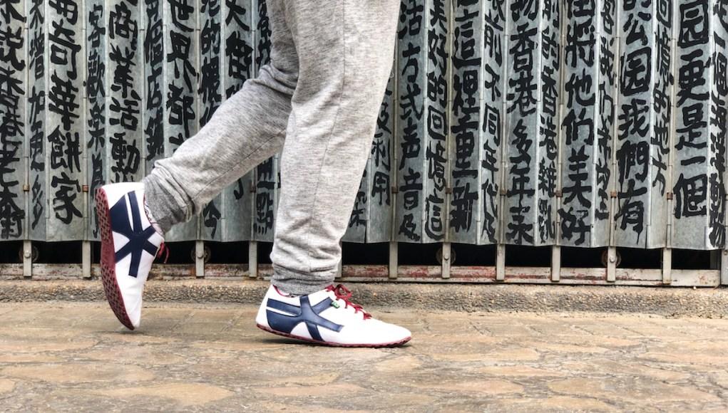 Wearing Maz Brasil Shoes in Hong Kong