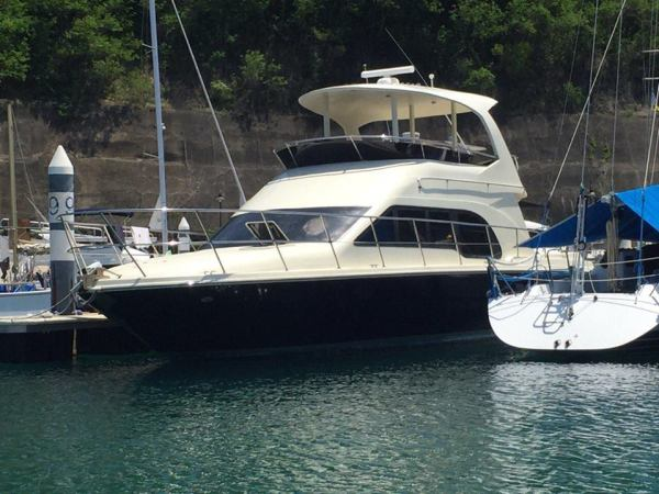 The Tom's Cruise docked at Punta Fuego Yacht Club. Photo via Official Facebook page.