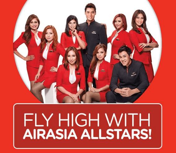 Be part of the AirAsia Allstars!