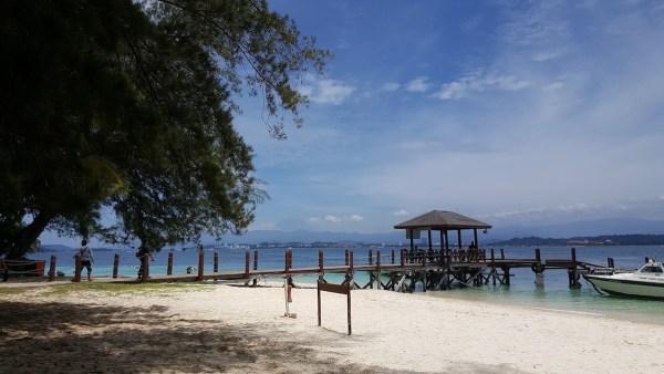 Beach in Kota Kinabalu