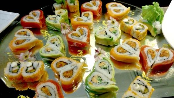 KITSHO Rolled Sushi - Tis Valentine all month of February at Kitsho