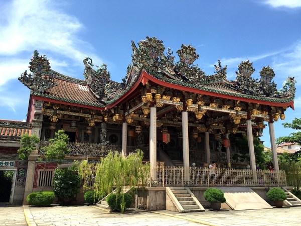 Khoo Kongsi Chinese Clanhouse in Penang