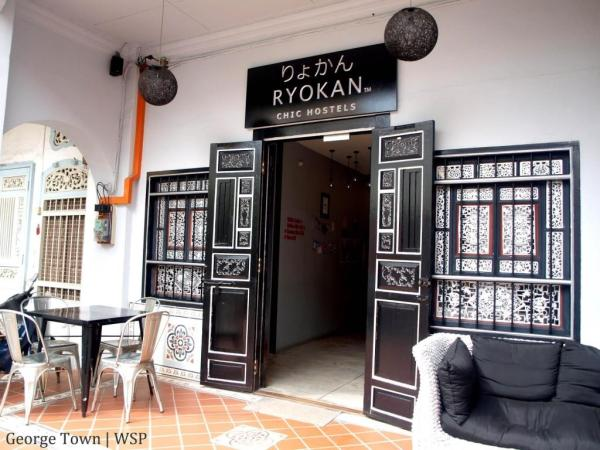 Ryokan Muntri Boutique Hostel