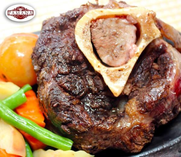 Sizzling Bulalo Steak from Pamana Restaurant Tagaytay