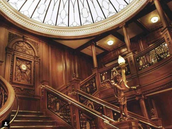 The Grand Staircase. Image via Instagram.