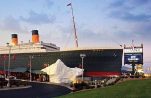 Titanic Museum Attraction in Pigeon Forge . Image via chicagomag.com