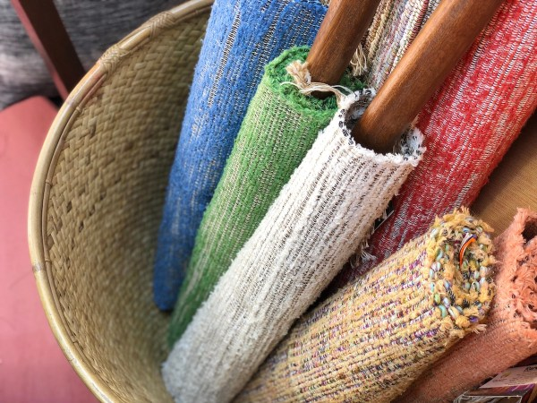 Handwoven fabrics from Baguio