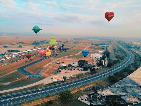 Hot Air Balloon Festival Ground