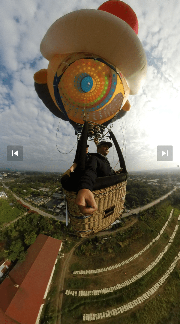 Hot Air Balloon 360 One photo