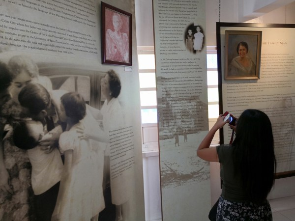 Inside Macapagal Museum