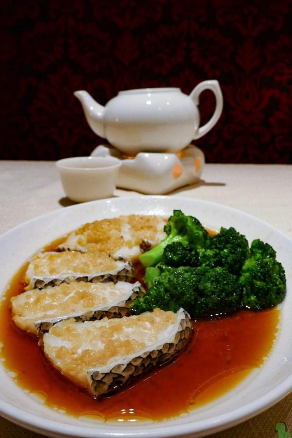 NWMH steamed cod fish fillet garlic Jasmine