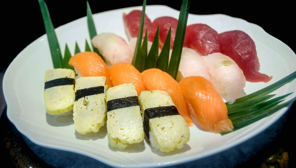 Open-faced sushi are just as delectably good as rolled varieties.