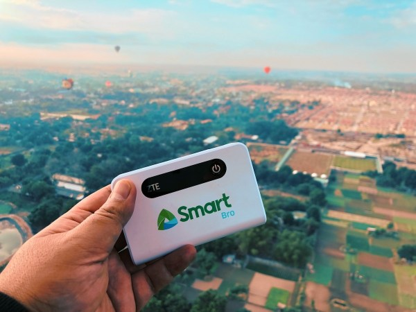 SmartBro LTE at the Hot Air Balloon Fiesta