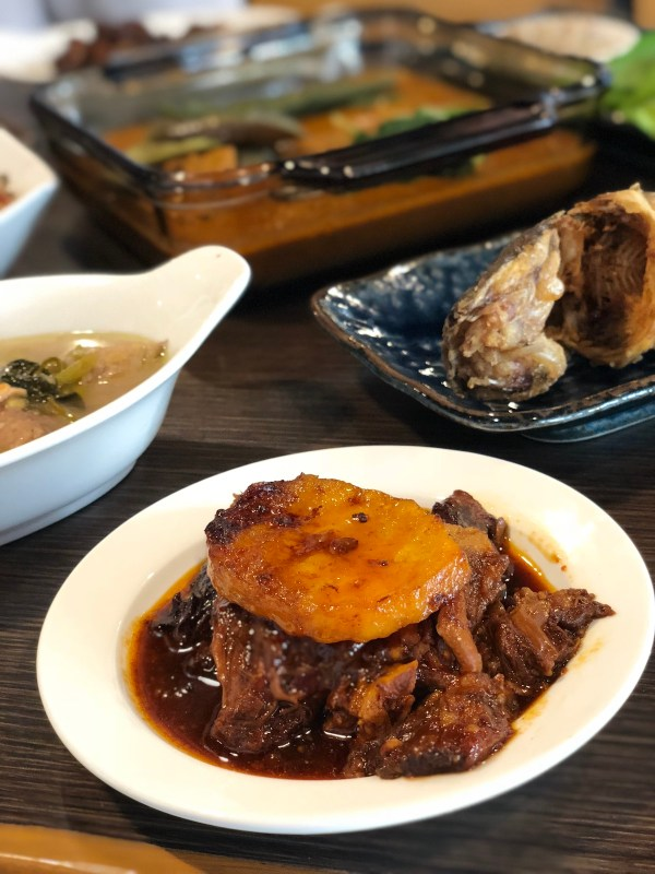 Spicy Goat Adobo
