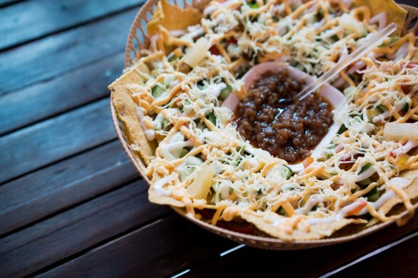 Tacos with Longganisa Dip photo by Martin San Diego- NPVB