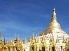 The Shwedagon Pagoda