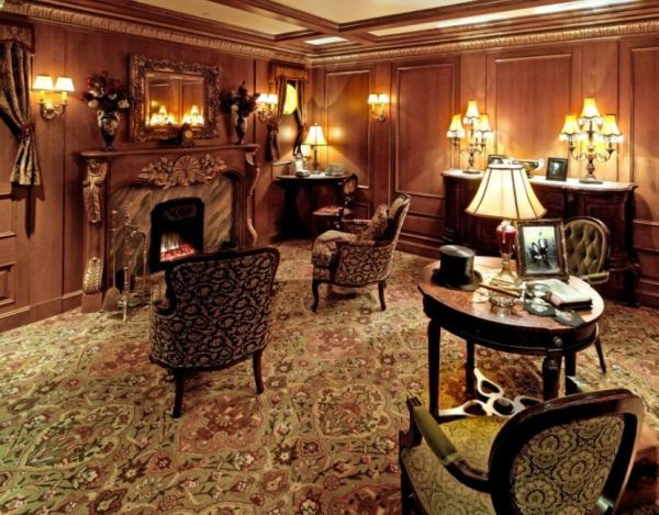 First-class room display. Photo credit: Titanic Museum Attraction.