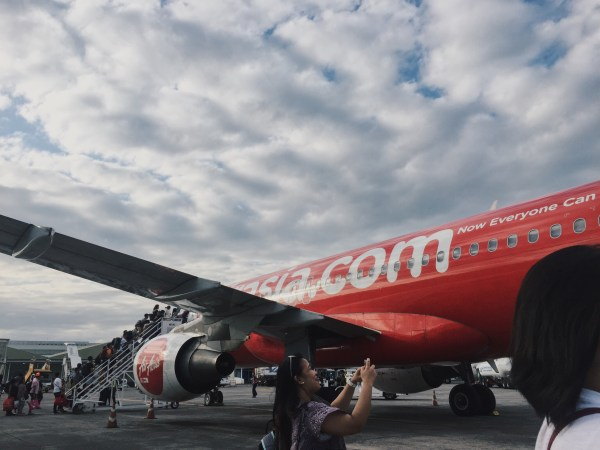 AirAsia Flight Z2 951 bound for Puerto Princesa from Clark Airport.