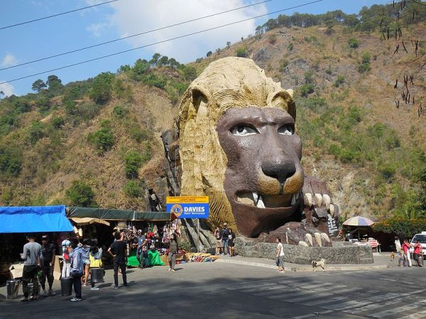 Baguio City is a favorite summer destination of many people. [Image Credit: Wikipedia]