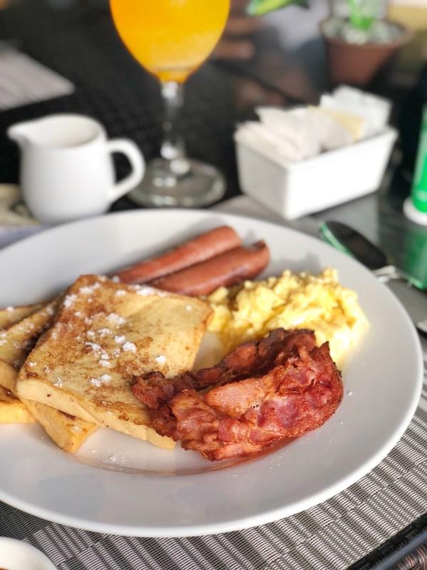 Continental Breakfast at Angga Restaurant