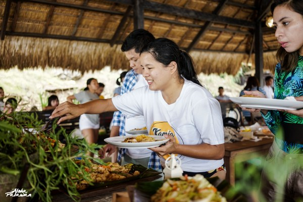We get to try their sumptuous lunch buffet after the exhilarating activities.