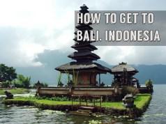 Flights to Bali Indonesia from Manila